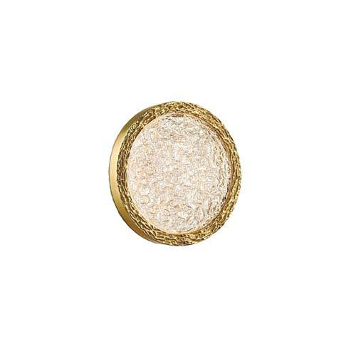 Bottega Polished Brass 10-Inch LED Wall Sconce