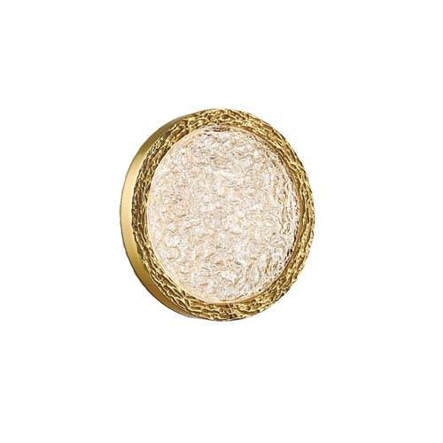 Bottega Polished Brass 13-Inch LED Wall Sconce
