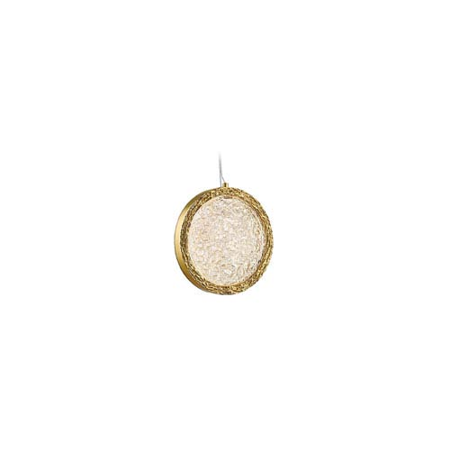 Avenue Lighting Bottega Polished Brass 6-Inch LED Mini Pendant