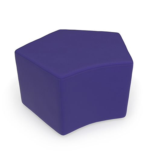 Purple Quin Stool