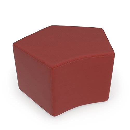 OFM Office Furniture Red Quin Stool
