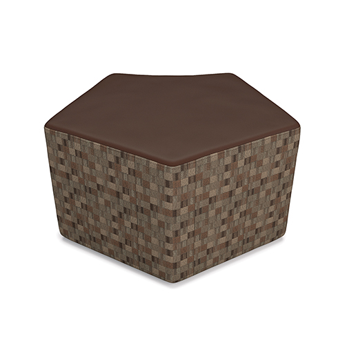 OFM Office Furniture Brown Quin Stool