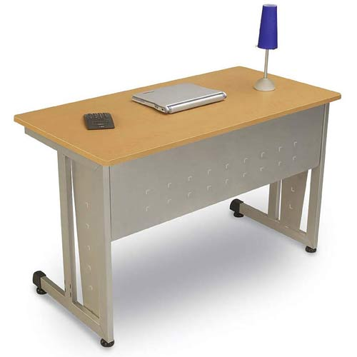 OFM Office Furniture Maple Computer Table