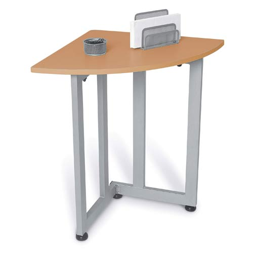Image of: Office Corner Table With Image Is Loading Newlawsoncomputerdeskwith2bookshelfcabinet New Lawson Computer Desk With Bookshelf Cabinet Home Corner Table