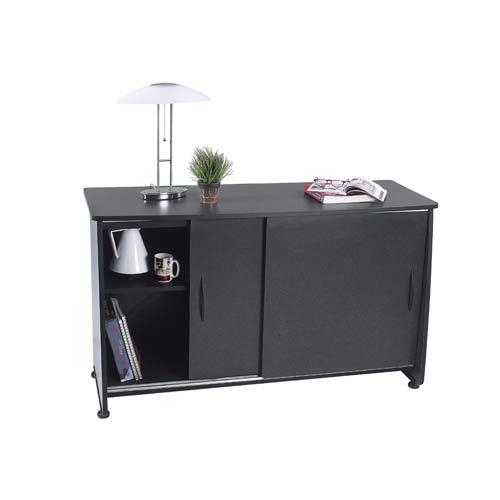 OFM Office Furniture Graphite Sliding Door Credenza