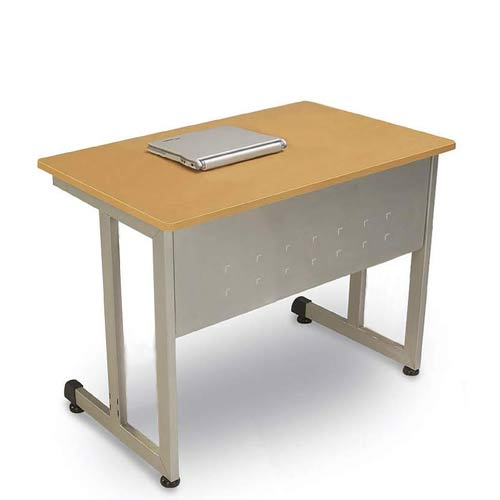 OFM Office Furniture Maple Modular Computer Table