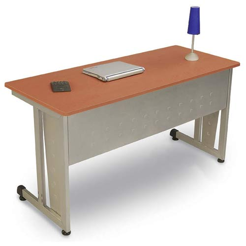 OFM Office Furniture Modular 24 x 60 Training /Utility Table - Cherry