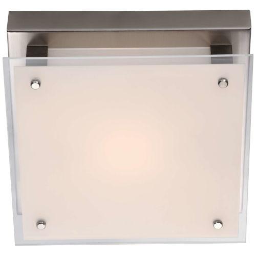 Helios Brushed Nickel ADA LED Flushmount