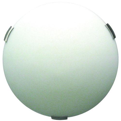 Orinoco Satin Nickel ADA Two-Light Flushmount