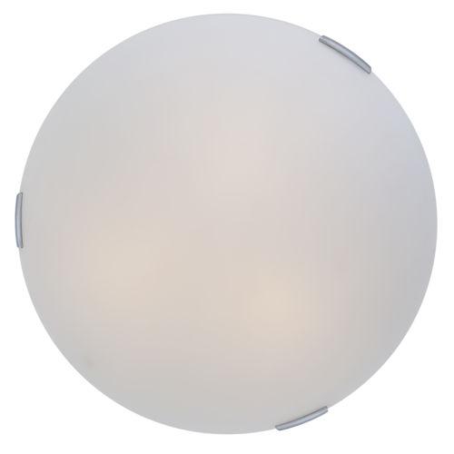 Orinoco Chrome ADA Three-Light Flushmount