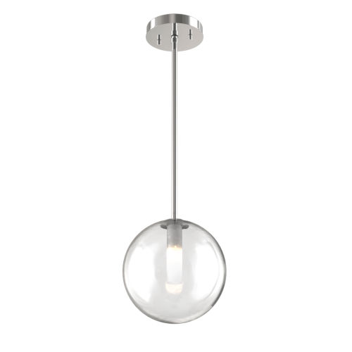 Courcellete Chrome One-Light Mini Pendant
