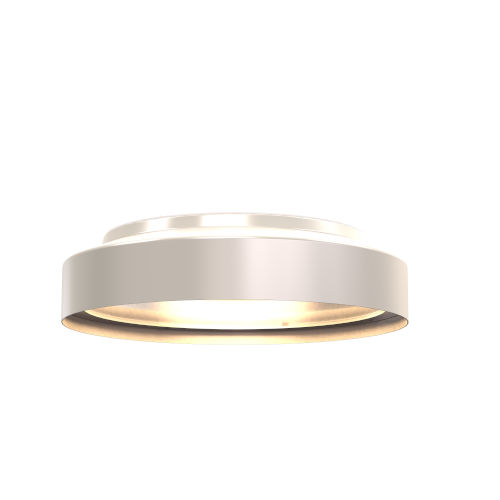 Anjou Satin Nickel ADA Two-Light Flushmount