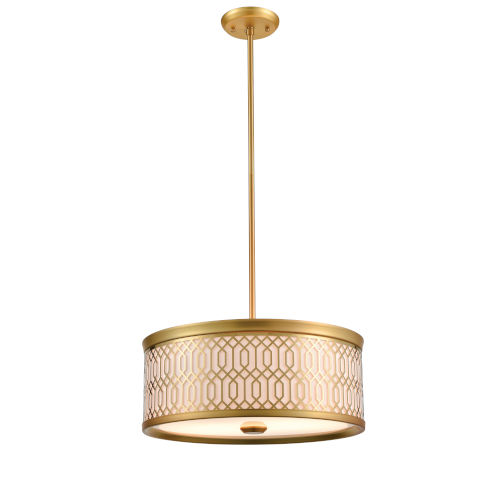 Tortona Venetian Bronze Two-Light Pendant