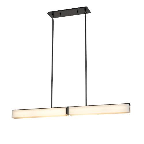 Dash Graphite Two-Light Pendant