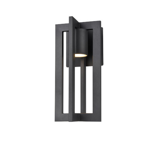 Astrid Black Six-Inch One-Light Outdoor Wall Mount