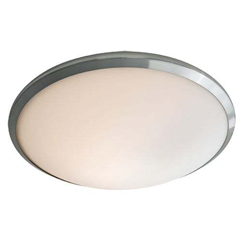 Essex Chrome ADA One-Light Flushmount