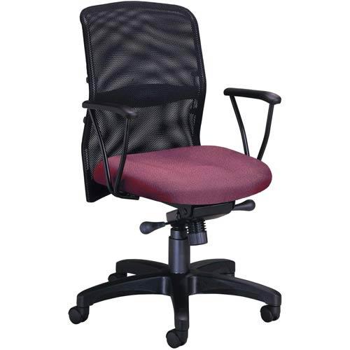 Pleasing Ofm Office Furniture Burgundy Airflo Desk Chair Machost Co Dining Chair Design Ideas Machostcouk