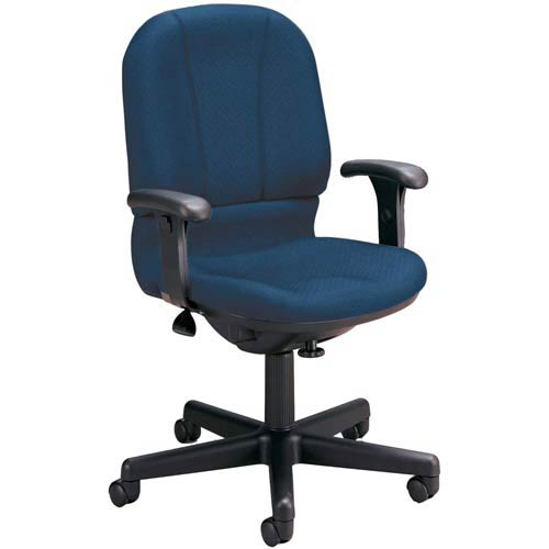 Swell Ofm Office Furniture Navy Posture Desk Chair Dailytribune Chair Design For Home Dailytribuneorg