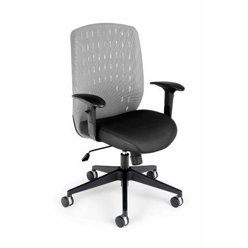 Vision Light Gray Executive Chair