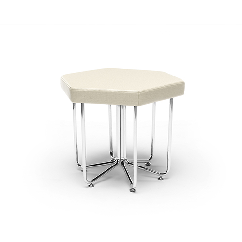 Linen Hex Series Stool