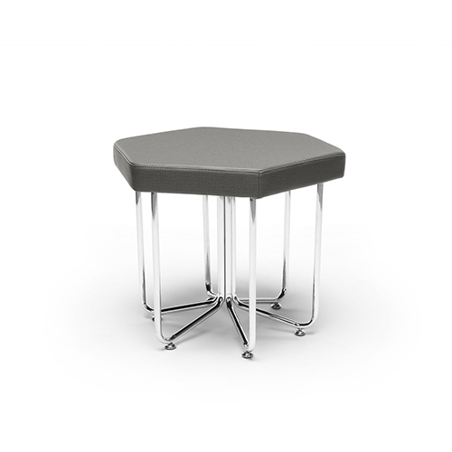 Slate Hex Series Stool