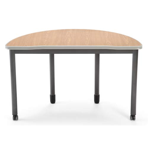 Maple Half-Round Table
