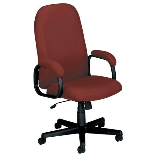 OFM Office Furniture Wine Fabric Executive Desk Chair