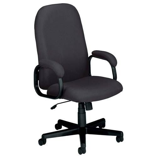 OFM Office Furniture Black Fabric Executive Desk Chair