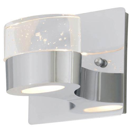 DVI Lighting Neptune Chrome One-Light Wall Sconce