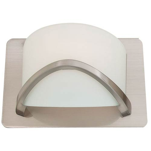 Solstice Satin Nickel One-Light Wall Sconce