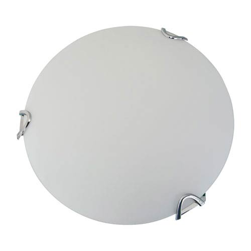 Solstice Chrome Two-Light Flush Mount