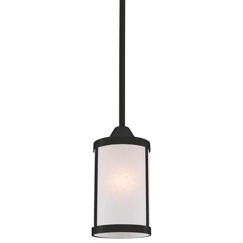Uptown Graphite One-Light Mini Pendant