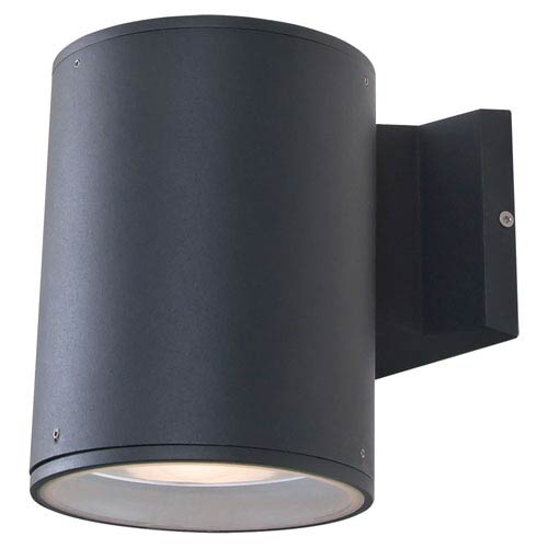 Summerside Matte Black 7.5-Inch One-Light Outdoor Sconce