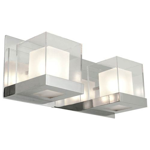 Narvik Chrome Two-Light Vanity