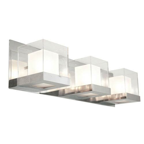 Narvik Chrome Three-Light Vanity