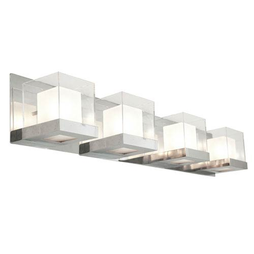 Narvik Chrome Four-Light Vanity