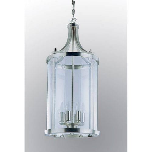 DVI Lighting Niagara Satin Nickel Six-Light Pendant
