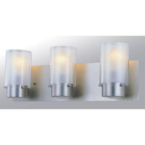 Essex Buffed Nickel Three-Light Vanity