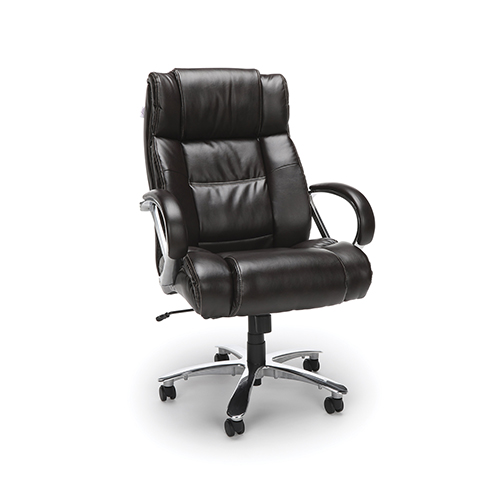 Brown Avenger Series Big and Tall Executive High-Back Chair