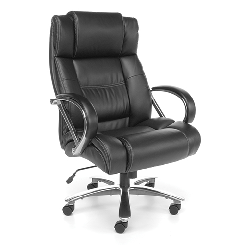 Black Avenger Series Big and Tall Executive High-Back Chair
