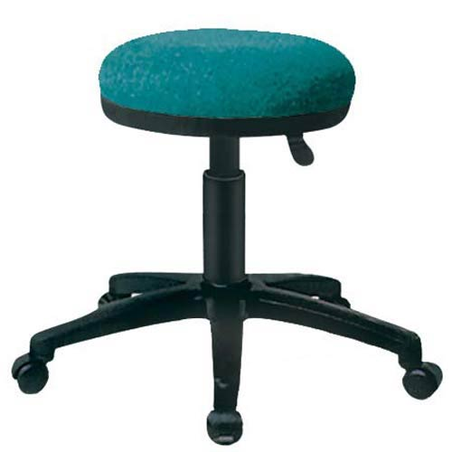 OFM Office Furniture Teal Fabric Utility Stool