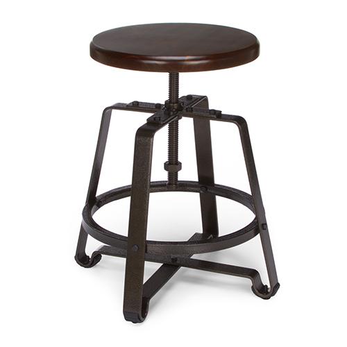 OFM Office Furniture Walnut Endure Series Tall Stool