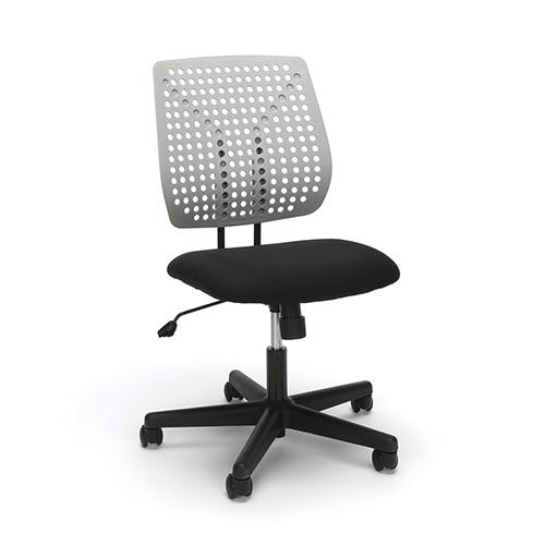 Black Model Plastic Back Task Chair