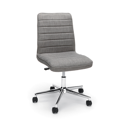 OFM Office Furniture Gray Model Fabric Mid Back Chair