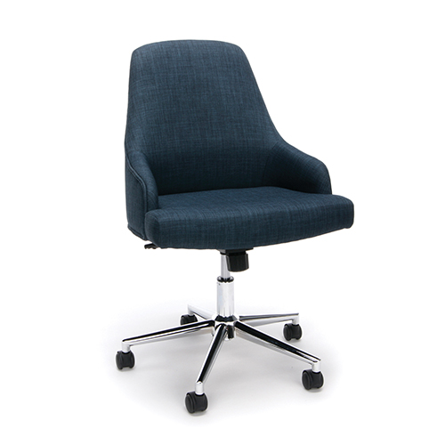 OFM Office Furniture Blue Upholstered Chair