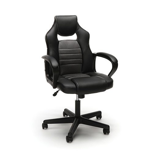 Black Racing Style Gaming Chair