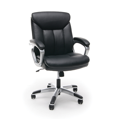 OFM Office Furniture Black Executive Office Chair with Arms