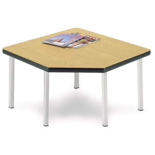 Five Leg Mahogany Corner Table