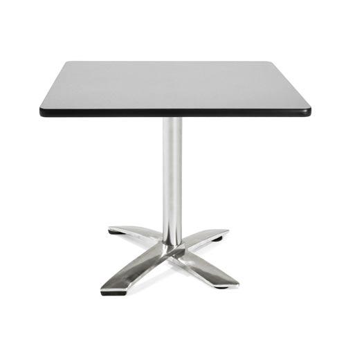 36-Inch Square Folding Multi-Purpose Gray Nebula Table