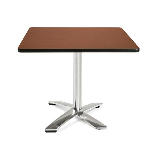 36-Inch Square Folding Multi-Purpose Mahogany Table